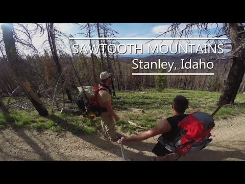 Sawtooth Mountains Idaho backpacking trip (GoPro Hero 3+ Black)