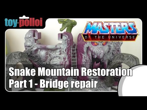 Fix it Guide - MOTU Snake Mountain part 1 by Mattel