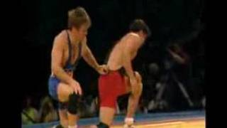 1996 Olympic Trials - Kendall Cross vs. Terry Brands