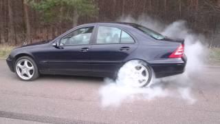 mercedes c220 cdi w203 burnout