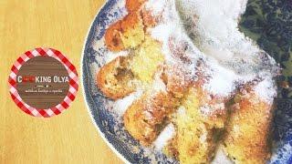 Творожный лимонно-банановый кекс|Быстрый и простой рецепт от CookingOlya