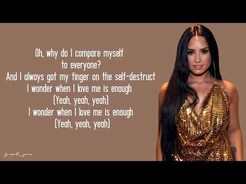 Demi Lovato - I Love Me (Lyrics)