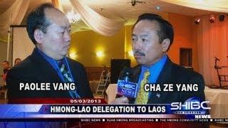 Suab Hmong News: Hmong-Lao Minnesota Delegation to Laos