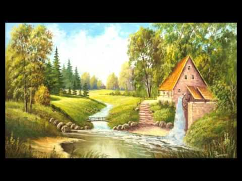 Природа пейзажи картины маслом