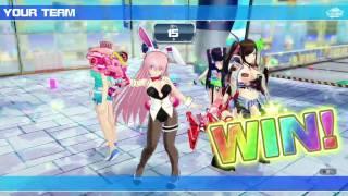 Senran Kagura: Peach Beach Splash - Multiplayer - Team Deathmatch (PS4) [HD]