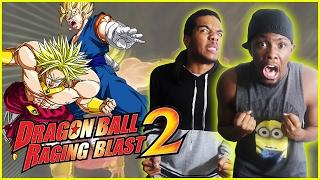 INTENSE BROTHER SUPER SAYIAN BATTLE! | #ThrowbackThursday - Dragon Ball Z Raging Blast 2 Gameplay