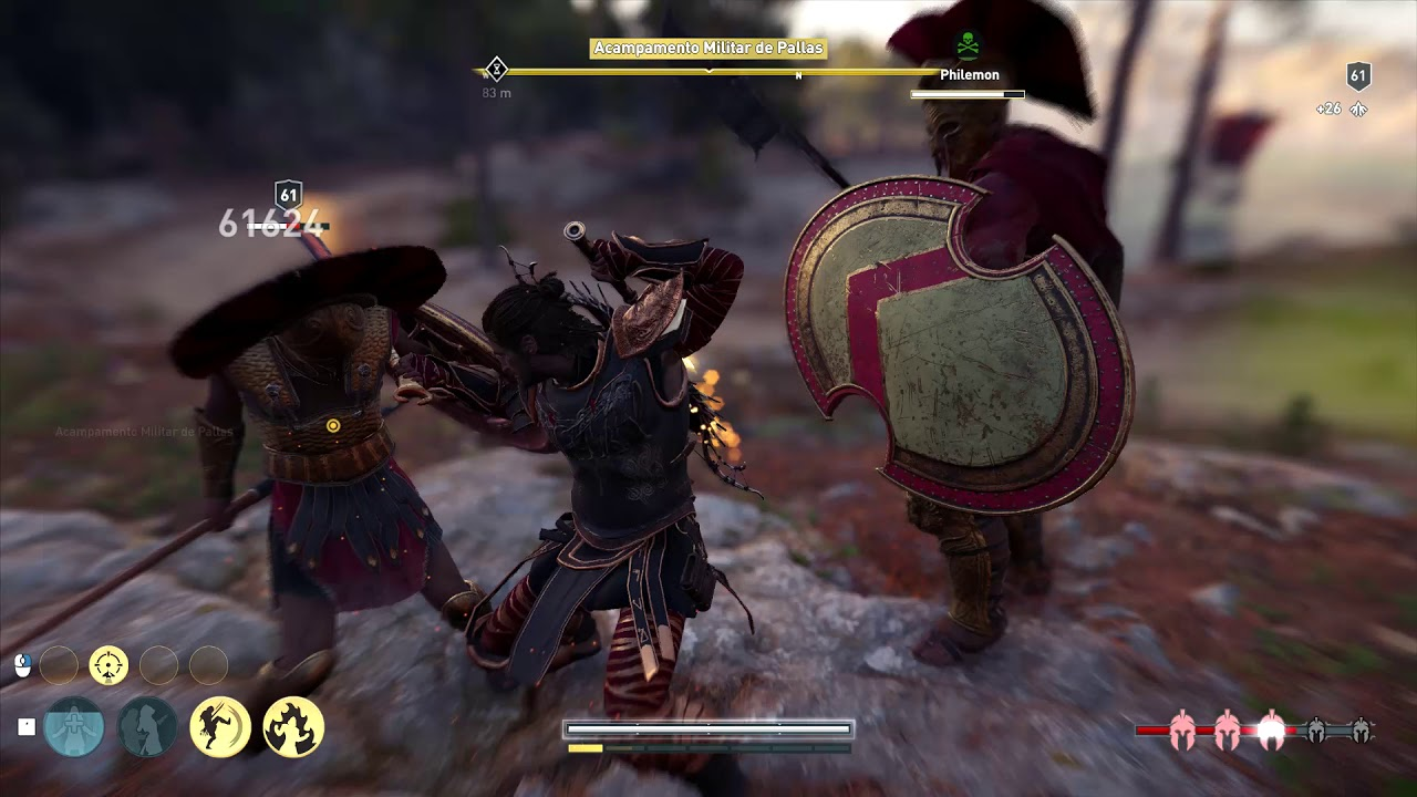 Ac odyssey dagger to the heart