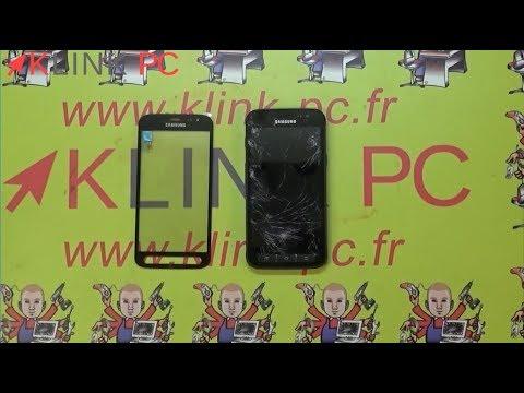 Comment changer la vitre tactile d'un Samsung X cover 4 SM-G390FZKAXEF ?