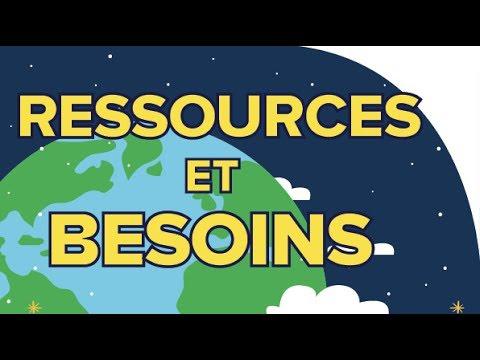 Ressources et Besoins en Energie - Sciences - Première ES/L