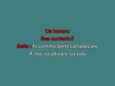 Tazenda Carrasecare [karaoke] [karaoke]