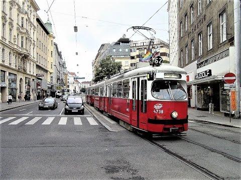 Vienna Austria Tram Scenes - 2010