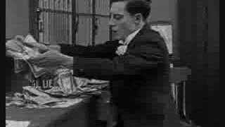 Buster Keaton in THE HAUNTED HOUSE (1921) -- Part 1 of 3