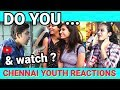 Do you? - Chennai on X Questions | Girls Hilarious Reactions | Break Time Tamil