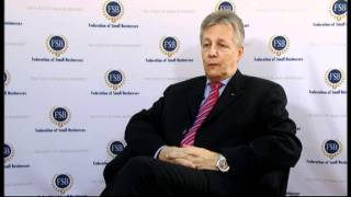 First Minister Peter Robinson discusses the priorities for the local economy