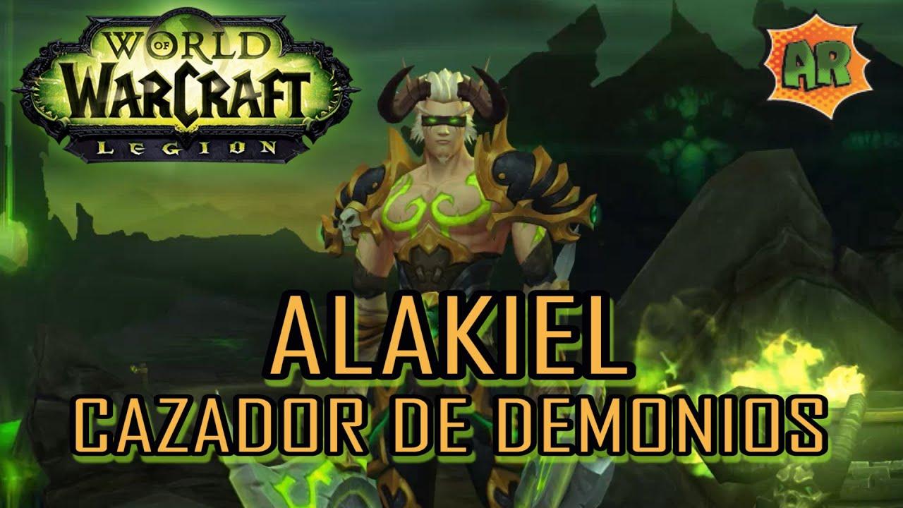 Alakiel Cazador De Demonios Demon Hunter World Of Warcraft