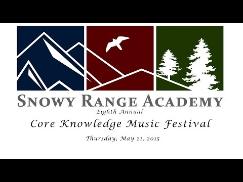 Snowy Range Academy Core Knowledge Music Festival 2015