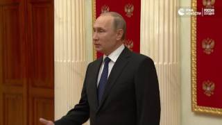 Владимир Путин о резолюции ЕП