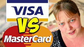 Visa или Mastercard - Какая лучше для путешествий? Все банковских картах виза и мастеркард!