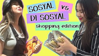 Banana Split SOSYAL VS. DI SOSYAL sa Mall (Shopping pa More!)