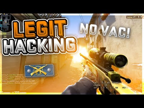 CS:GO Legit Hacking with Iniuria in Prime #10 VAC WAVE CAN'T TOUCH ME