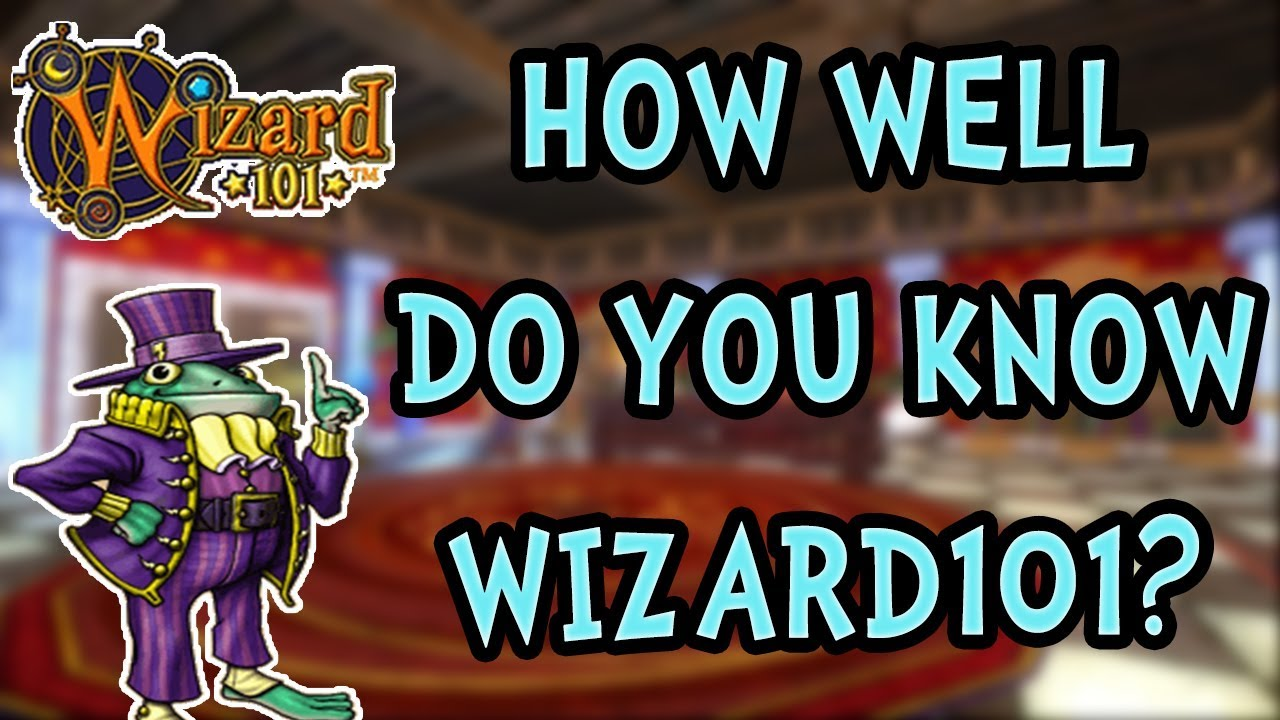 THE ULTIMATE WIZARD101 QUIZ! Will I Pass?