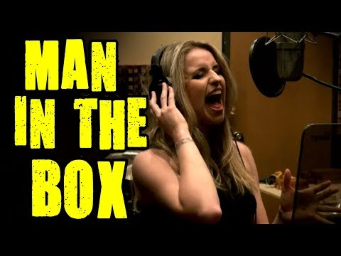 Man In The Box - Gabriela Gunčíková - Alice In Chains-COVER-Layne Staley - Ken Tamplin Vocal Academy