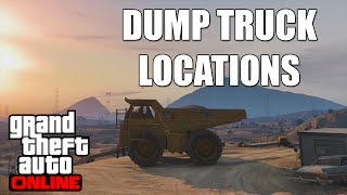 GTA 5 Dump Truck Location Guide - GTA 5 DUMP TRUCK DESTRUCTION!!