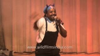 African singer from Botswana