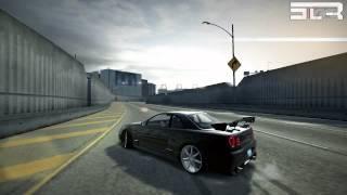 Drift Skyline R34 by SLR