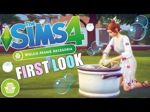 ⭐️ First Look: THE SIMS 4: WIELKIE PRANIE [akcesoria] 👗