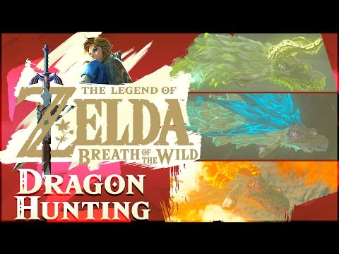 How To EASY HUNT DRAGONS In The Legend of Zelda: Breath of the Wild!