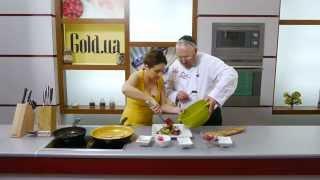 Даша Малахова: новогодний салат с гранатом и клубничный коктейль