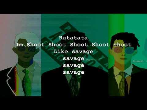 Dwiki CJ - Ratatata (SAVAGE) Official Video Lyric