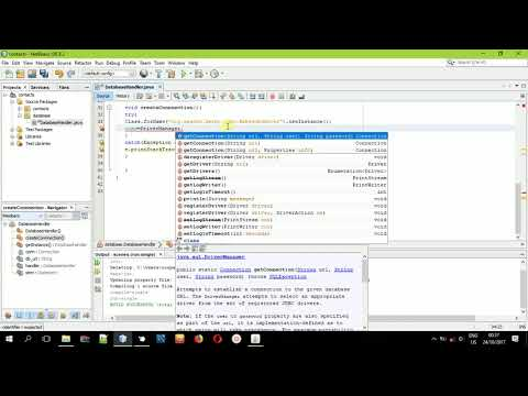 Connecting to the database in JavaFX FXML and Java # Contact Book Application#Step 1
