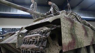 Tiger Tanks!.....Saumur tank museum, hidden gem