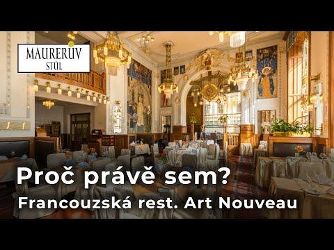 Francouzská restaurace Art Nouveau