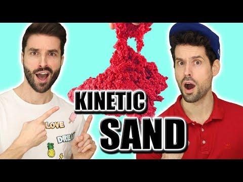 comment faire du kinetic sand sable magique youtube. Black Bedroom Furniture Sets. Home Design Ideas
