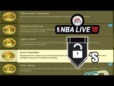 NBA LIVE 18 OFFICIAL BADGE BREAKDOWN (TRAITS) ALL NBA LIVE 18 BADGES !