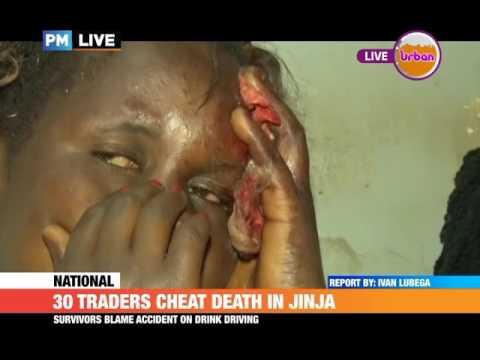 #PMLIVE: 30 TRADERS CHEAT DEATH IN JINJA