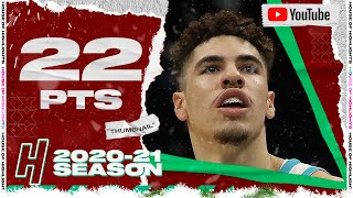 LaMelo Ball 22 Pts 5 Ast Full Highlights vs Mavericks | December 30, 2020-21 NBA Season