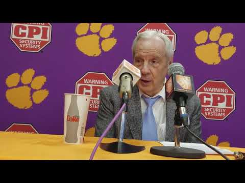 UNC head coach Roy Williams after loss at Clemson