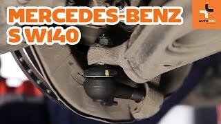Kaip pakeisti Stabilizatoriaus įvorė MERCEDES-BENZ S-CLASS (W140) - internetinis nemokamas vaizdo