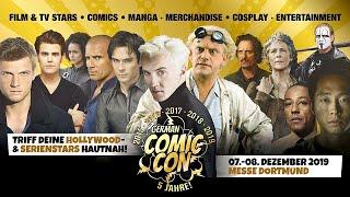 Dortmund Comic Con 7 december 2019 UHD 4K Cosplay video
