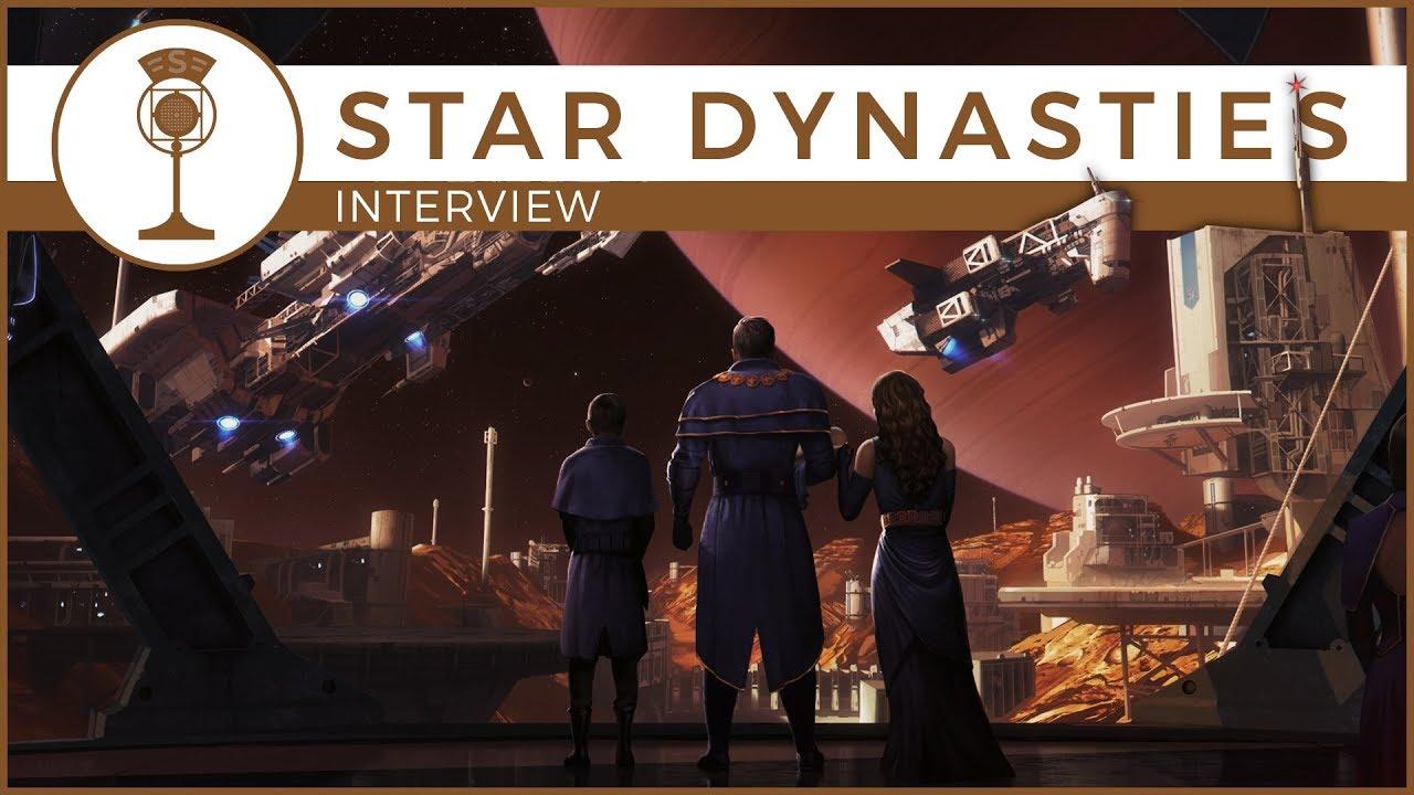 Star Dynasties - CK2 In Space - A Developer Interview | Schematics on