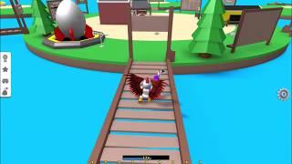 DONALD TRUMP + SKY BRIDGE!!! | Egg Farm Simulator | Roblox