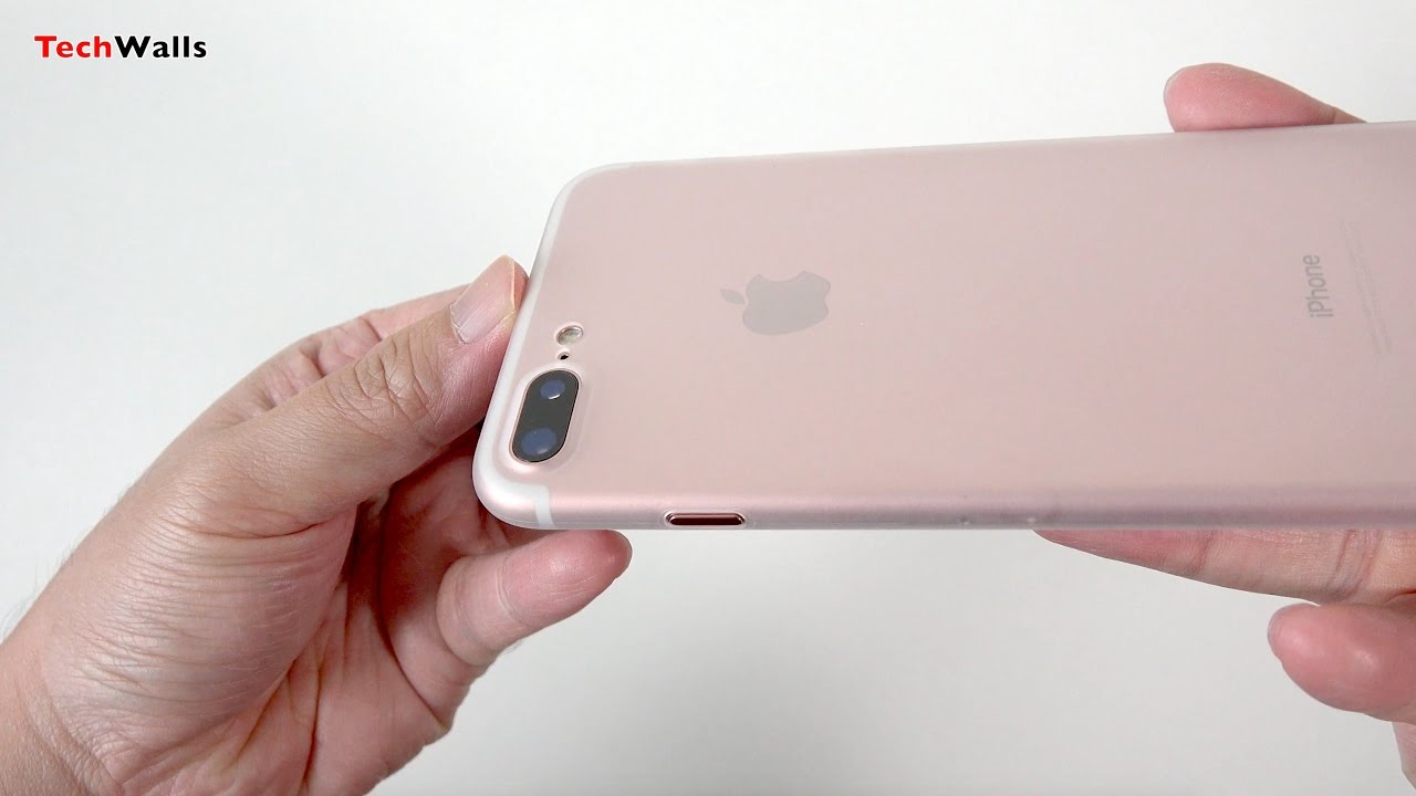 0f1b7930aaf totallee The Scarf - The Thinnest iPhone 7 Plus Case - YouTube