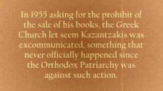 Nikos Kazantzakis - Short Bio