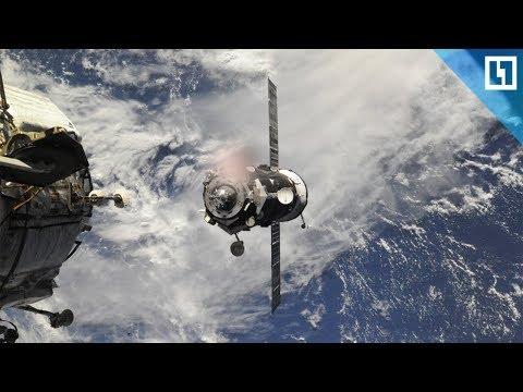 Стыковка космического корабля «Союз МС-07» с МКС