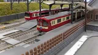 ホビーセンターカトー東京HOゲージ・西武9000系RED LUCKY TRAIN&京急2100系 thumbnail