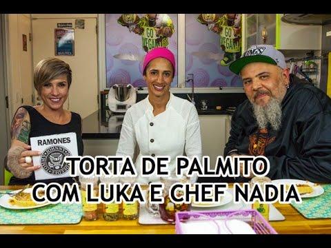 Torta de palmito com Luka e chef Nadia | Panelaço do João Gordo